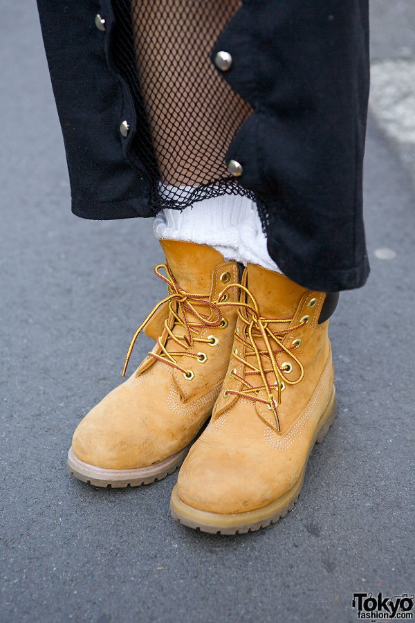 Harajuku Style Icon Una W Kinsella Fishnet Dress Amp Troop
