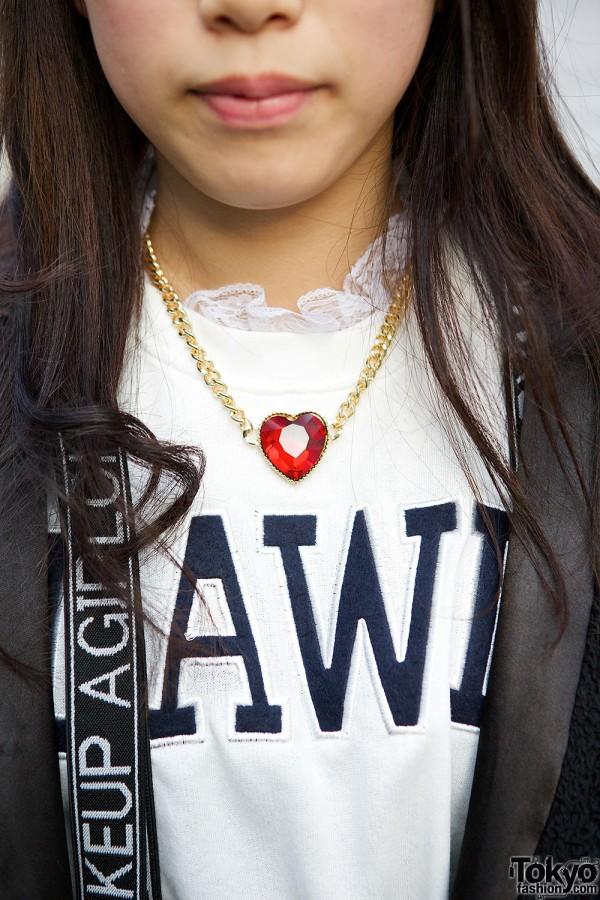 WEGO Heart Necklace