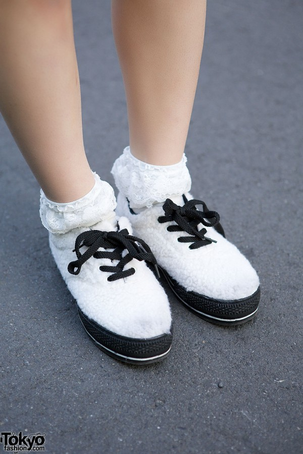 WEGO Faux Fur Shoes