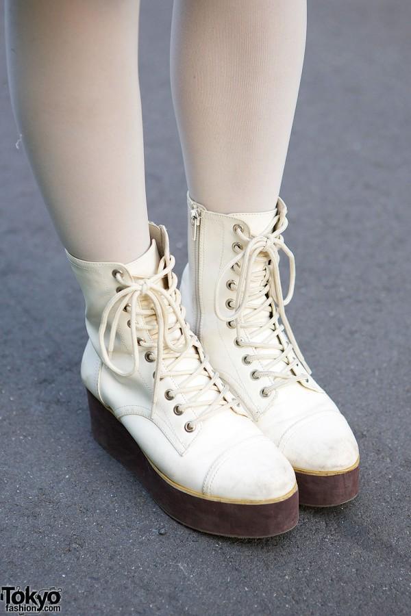 LDS Lace-up Boots