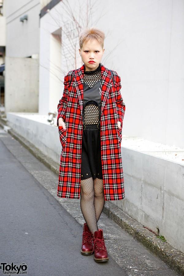 Resale Long Plaid Coat