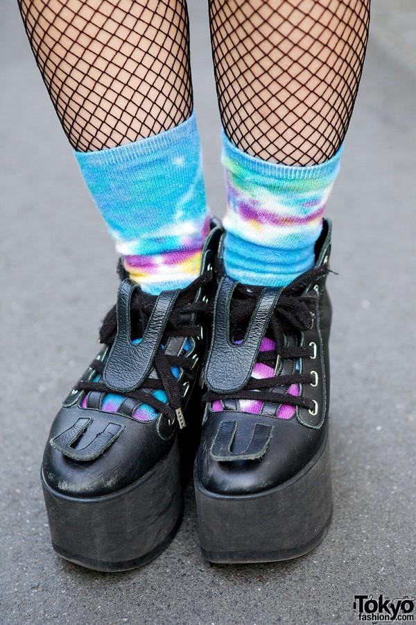 Tie Dye Socks & Tokyo Bopper
