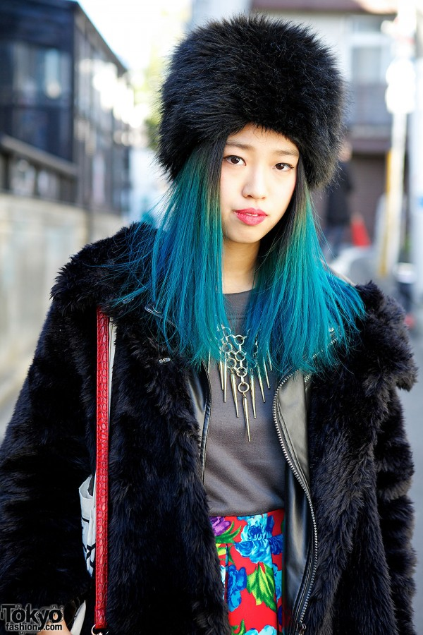 Blue Ombre Hair