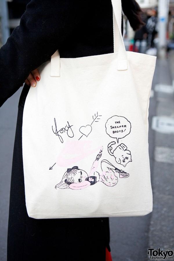Foxy x Nike Bag Harajuku