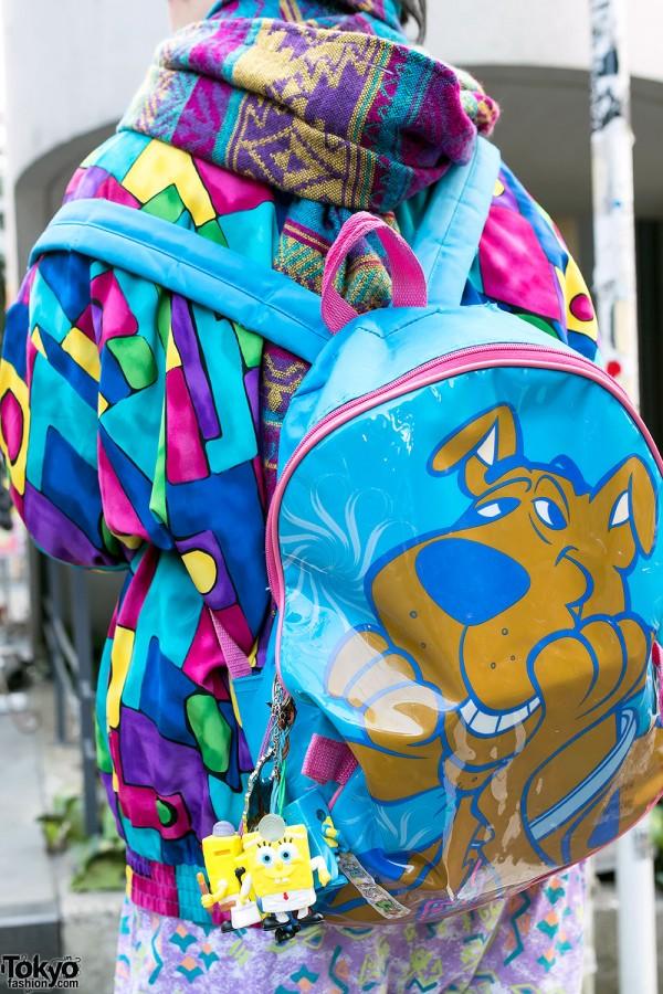 Scooby-Doo Backpack & SpongeBob
