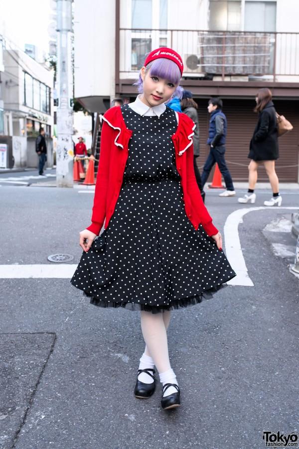 1950s Inspired Harajuku Street Fashion