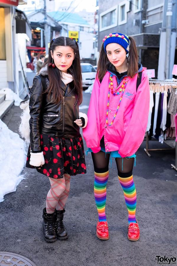 Harajuku Sisters in WEGO & Candy Stripper