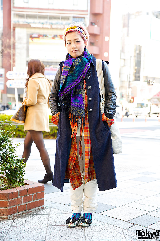 Maxi Coat & Maxi Shirt in Harajuku