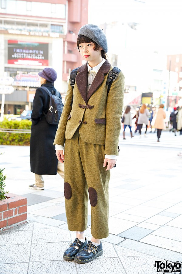 Tweed Women's Suit in Harajuku