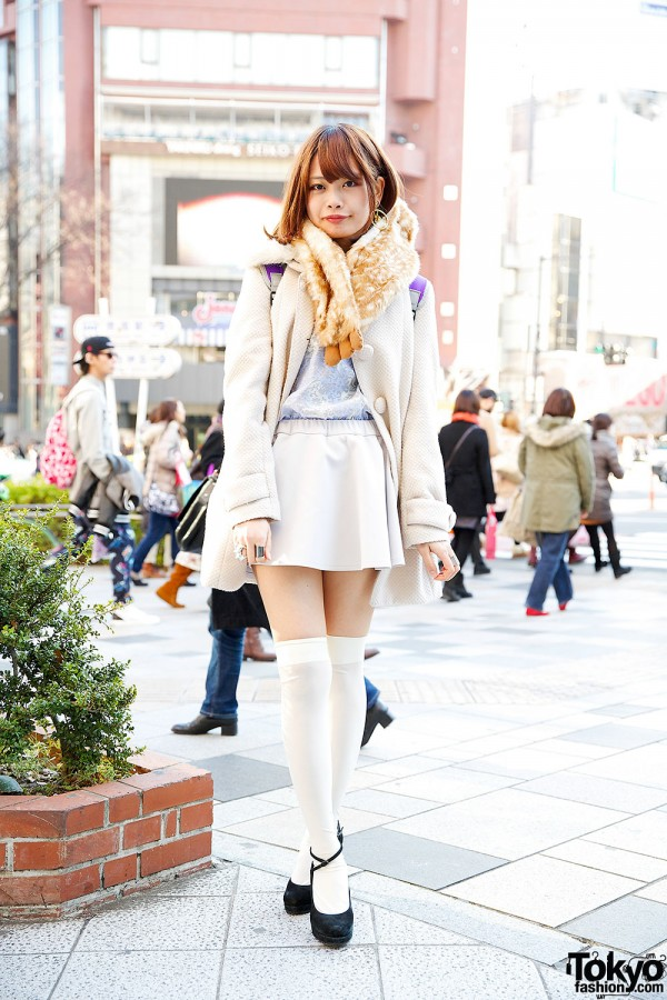 Pastel Outfit in Harajuku