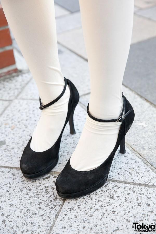 Diana Heels in Harajuku