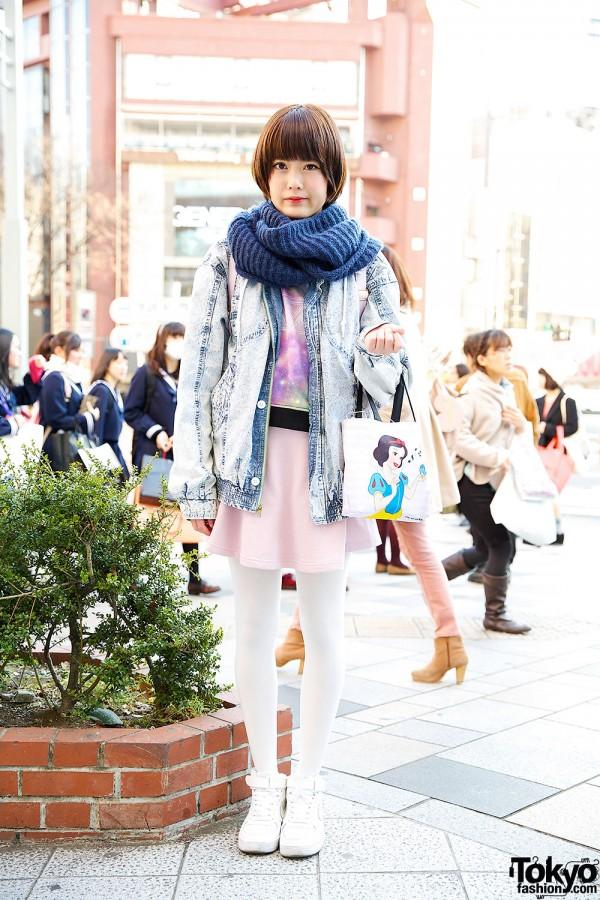 Harajuku Girl in Pastels