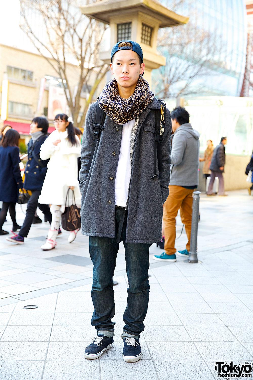 APC Coat & N.Hoolywood Jeans