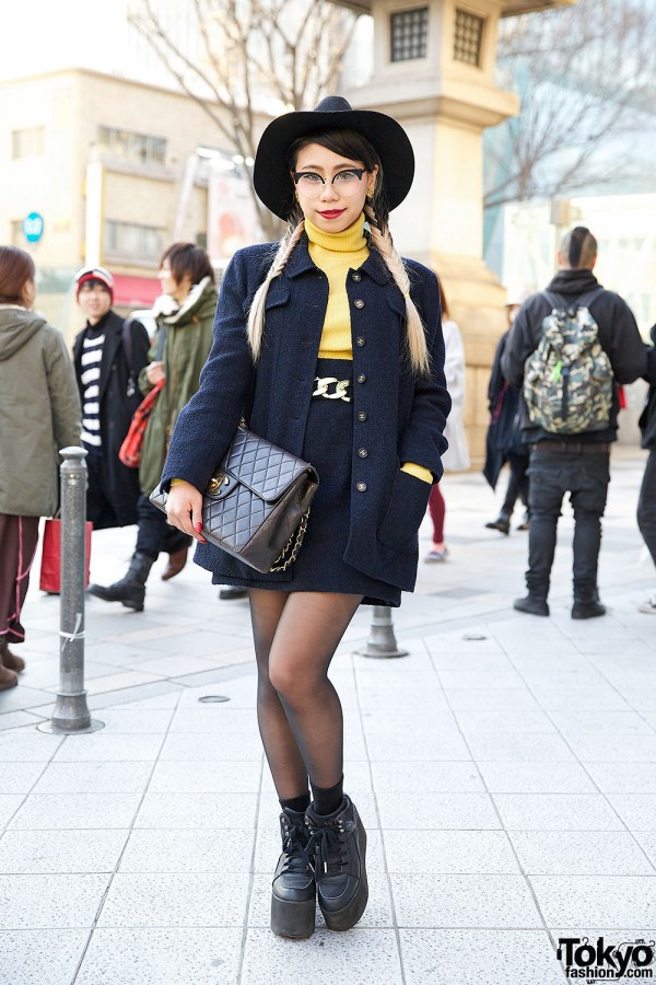 Chanel Fashion in Harajuku