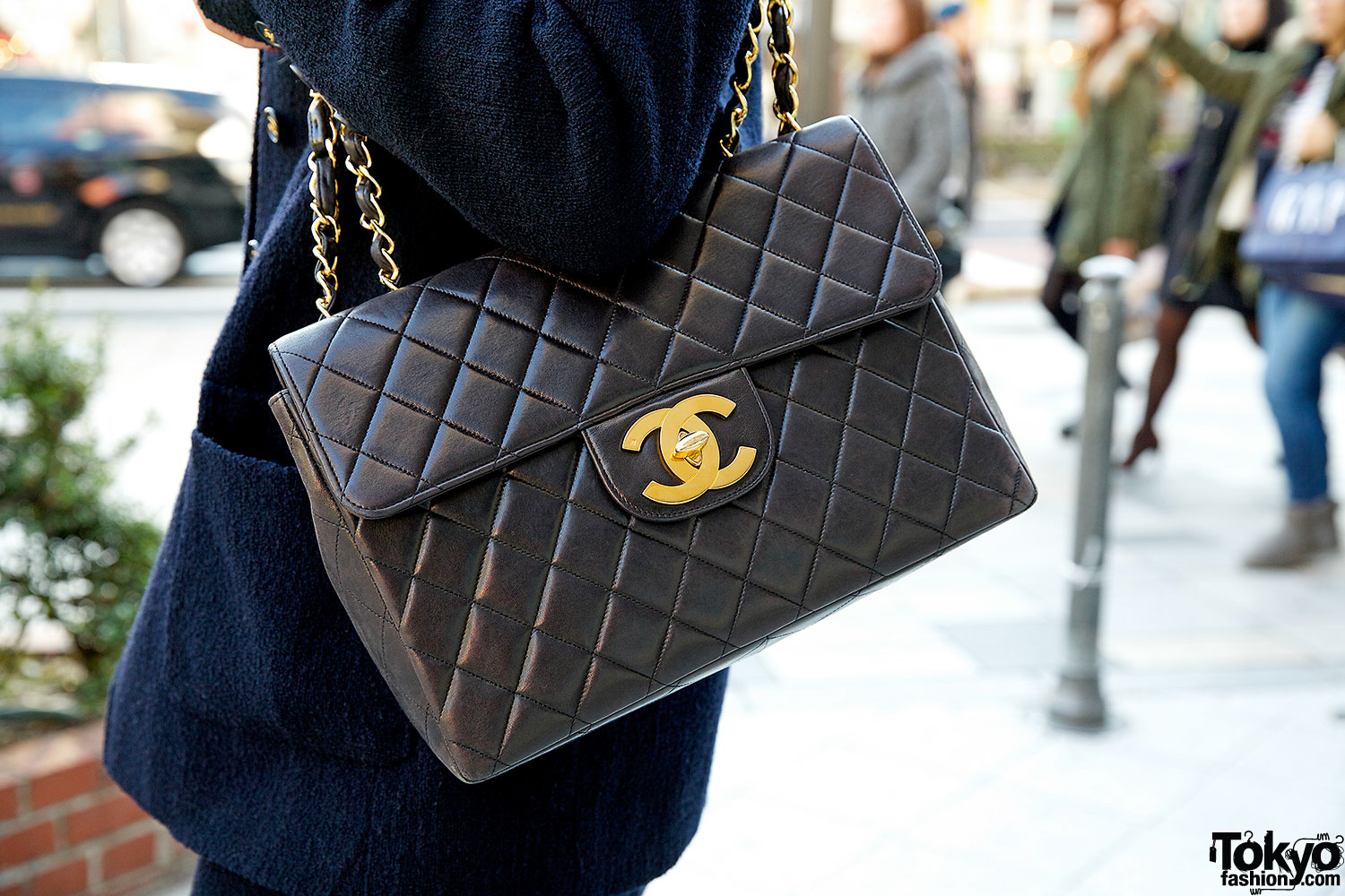 Chanel Skirt Suit Cat Eye Glasses Quilted Chanel Bag