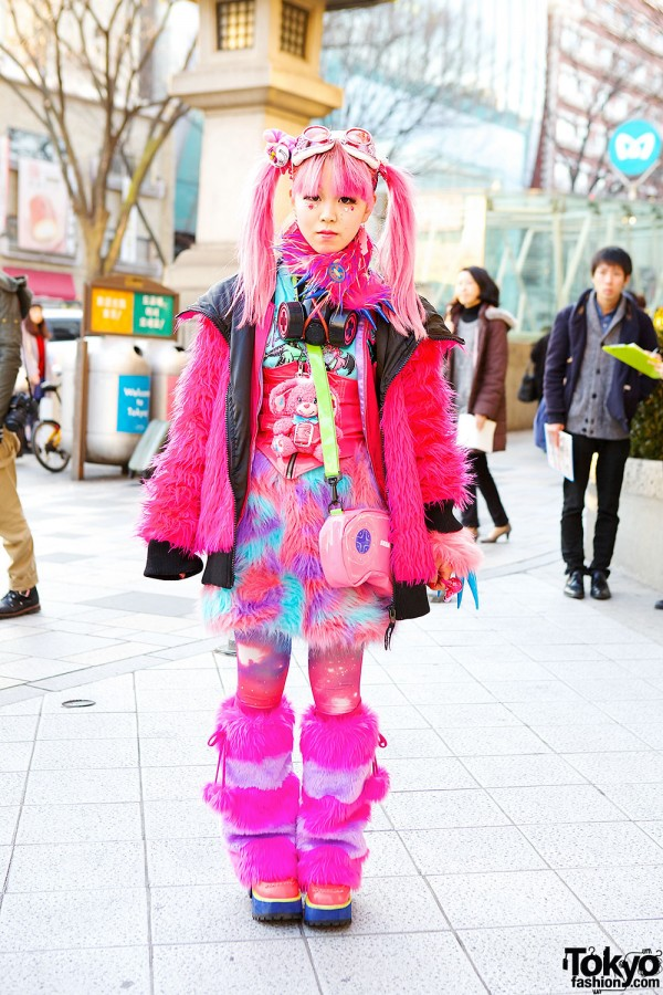 Pink Harajuku Fashion