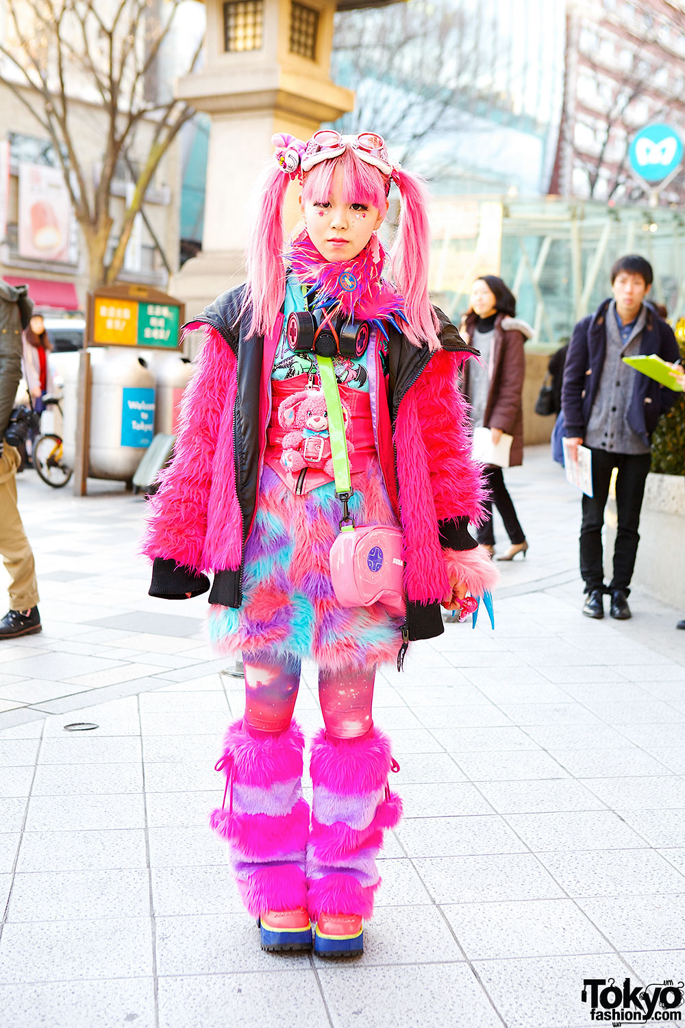Pink Harajuku Style W Takuya Angel Galaxxxy Super Lovers Listen Flavor