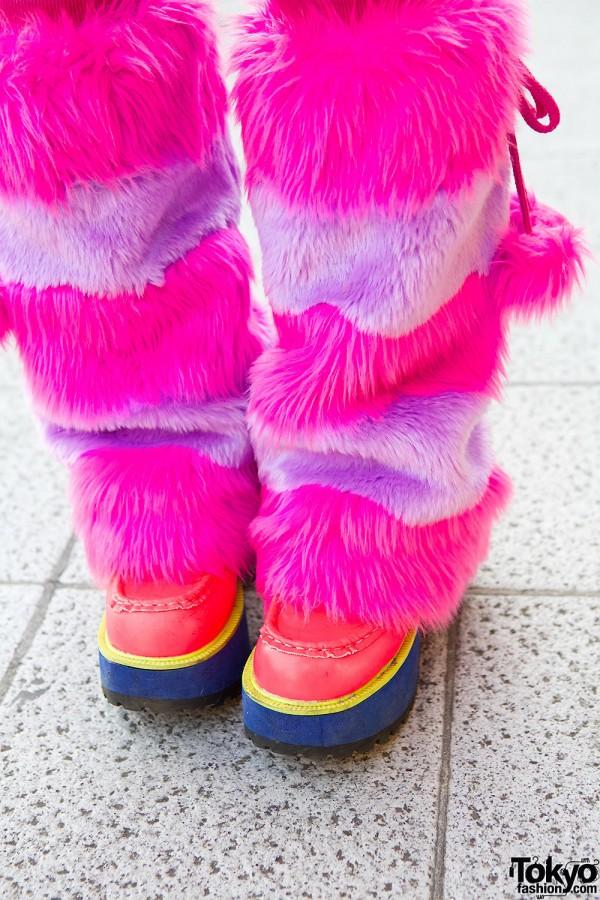 Yosuke Shoes & Leg Warmers