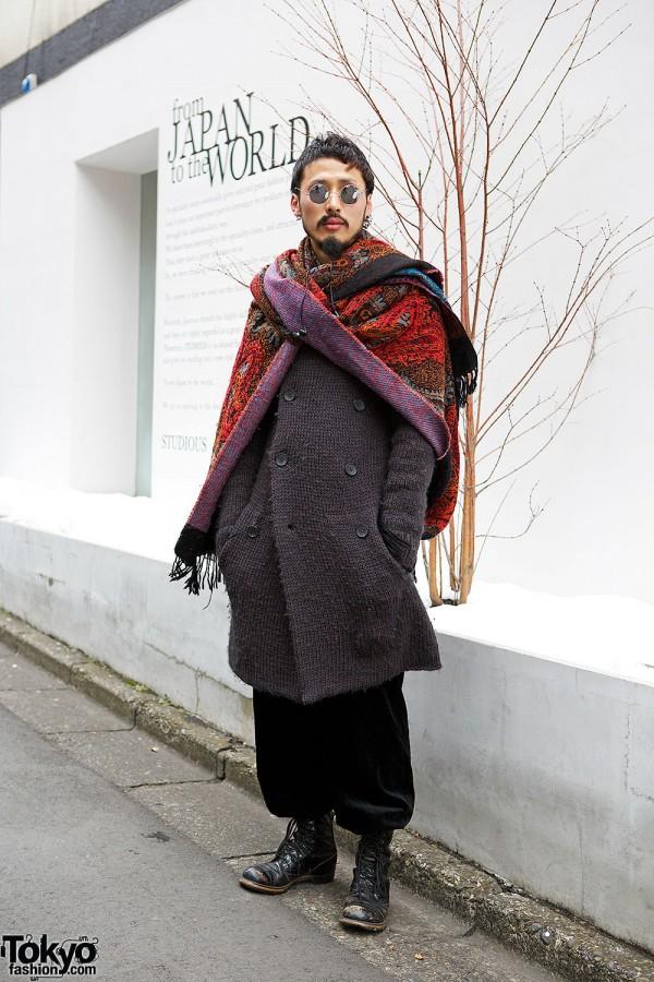 The Viridi-anne Knit Coat