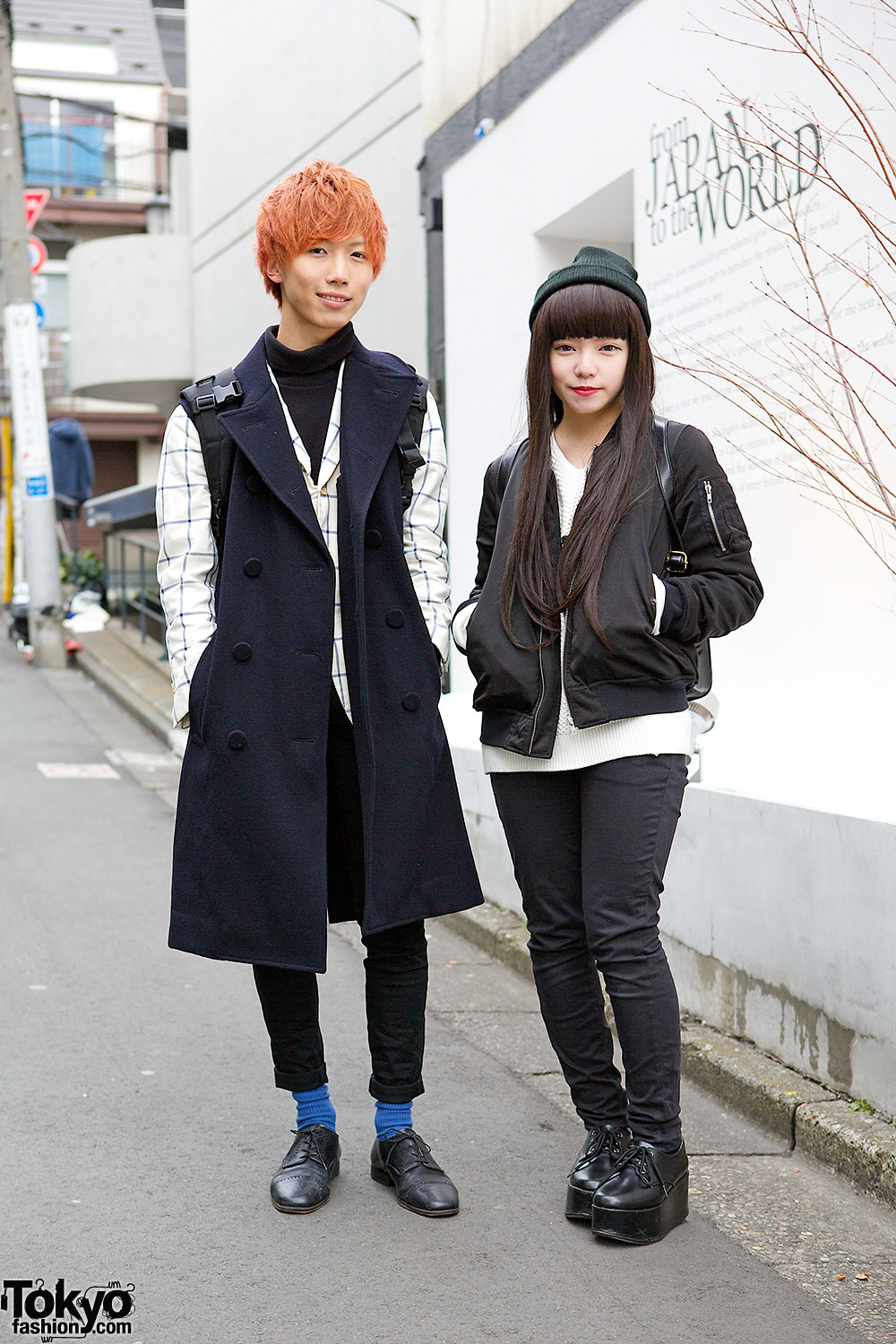 Harajuku Monochrome Fashion