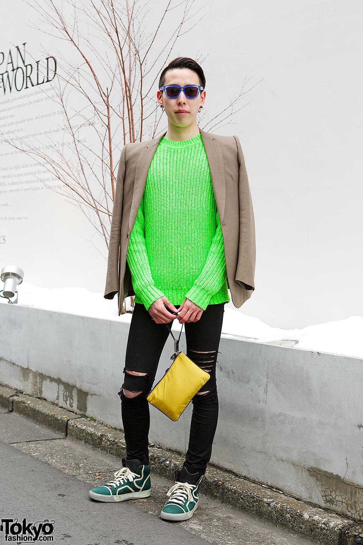 Kenzo Sweater & Julius Blazer