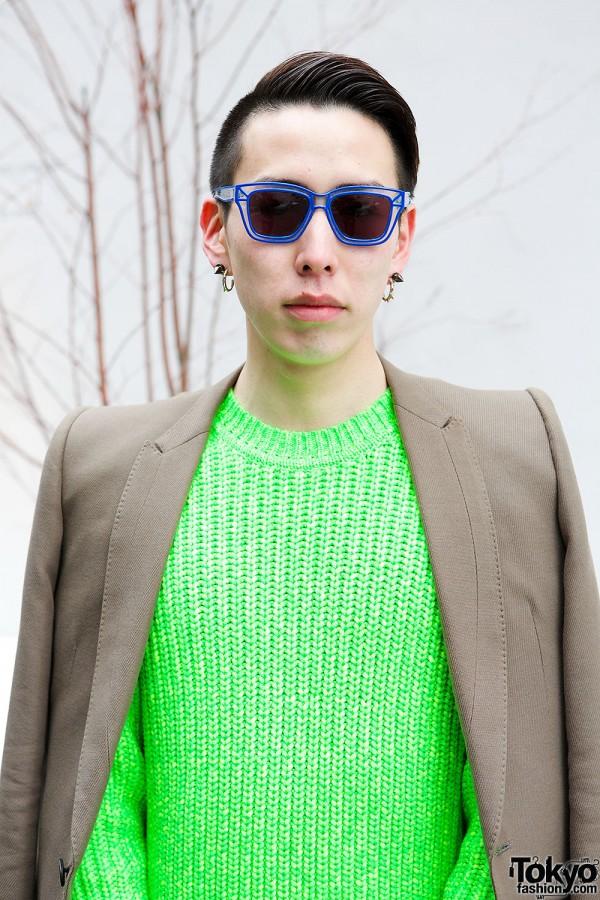 Neon Kenzo Sweater