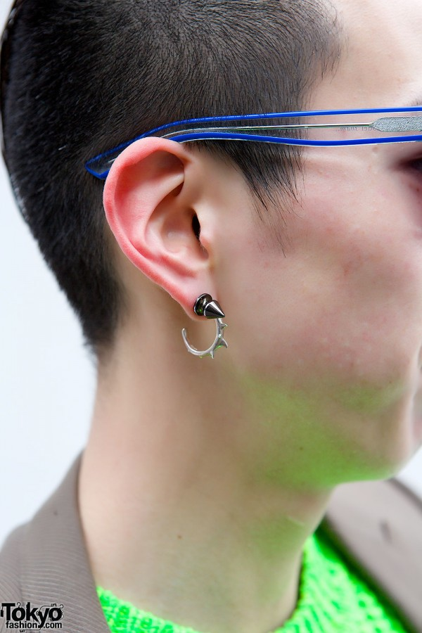 Yoshiko Creation Spike Earring