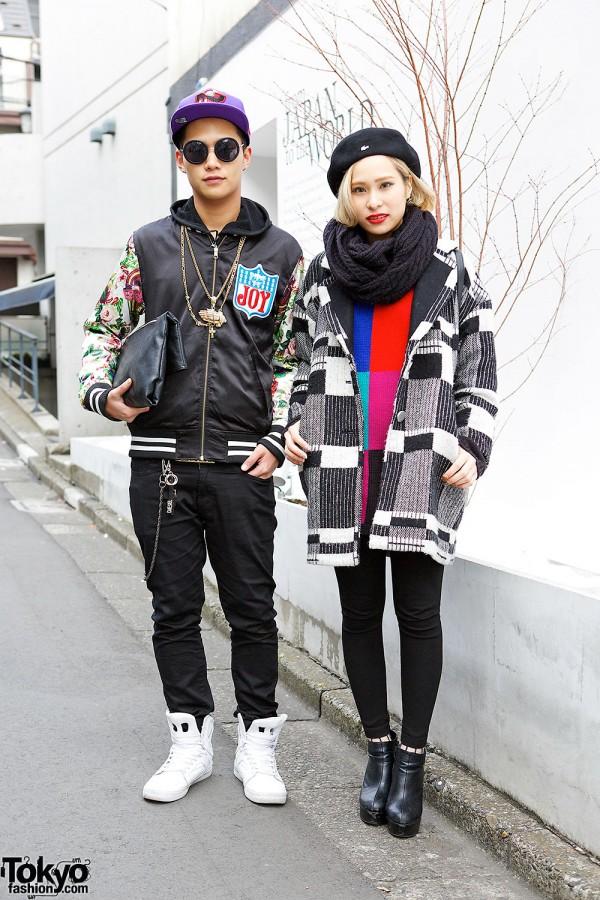 Harajuku Street Style Guy & Girl