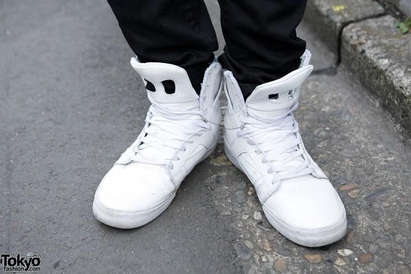 Supra Sneakers in Harajuku