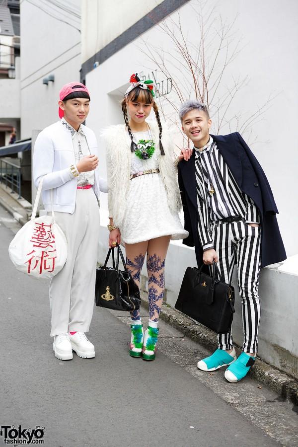 Harajuku Trio w/ Comme des Garcons, Fessura, Dress Camp & Handmade Items
