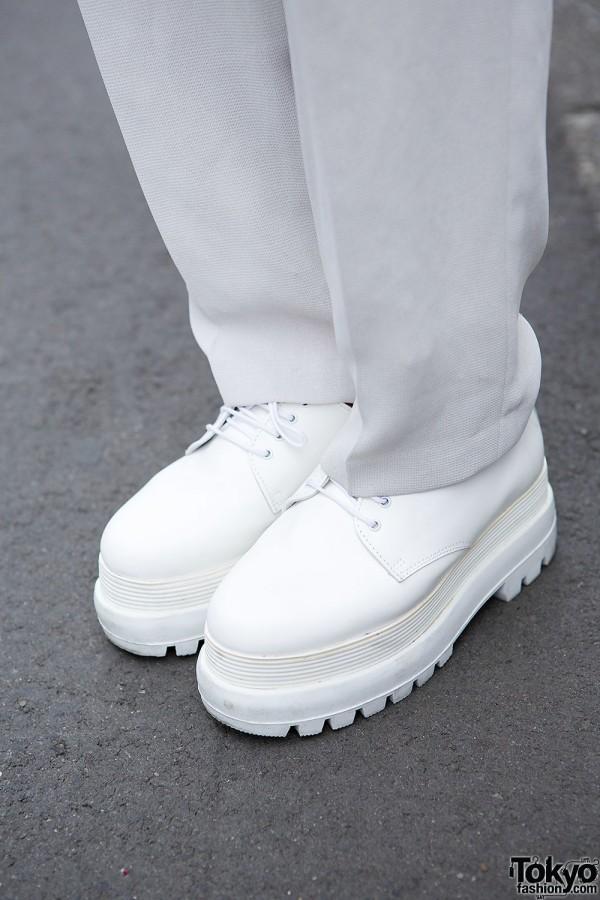 White Shoes in Harajuku
