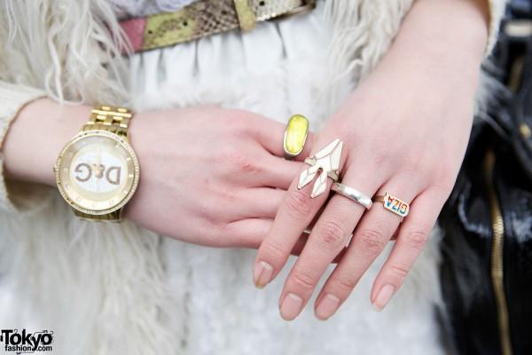 Giza & Handmade Rings