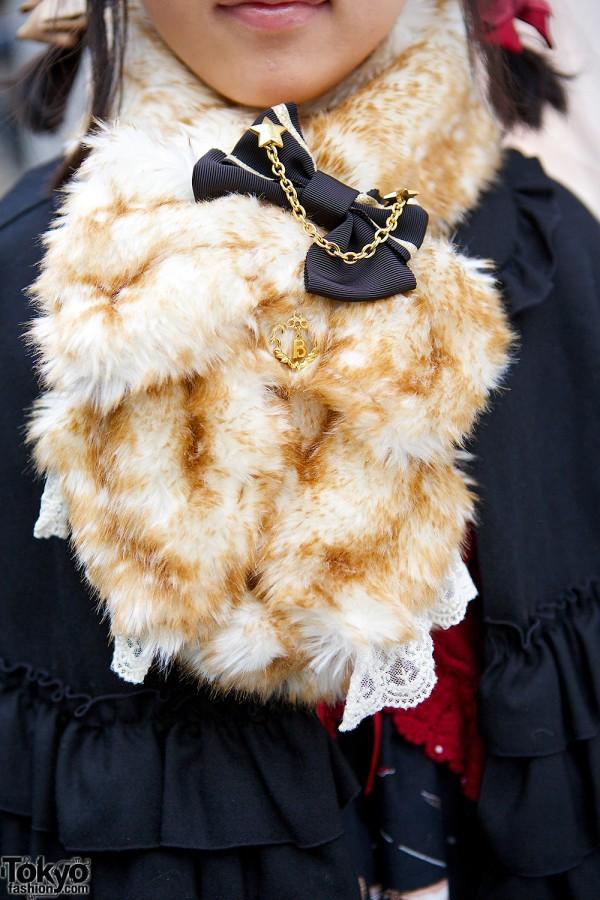 Faux Fur Cowl
