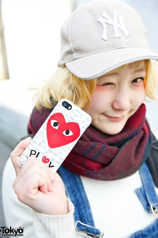 Comme des Garcons Play Heart Phone Case