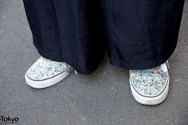 Vans Sneakers & Maxi Skirt