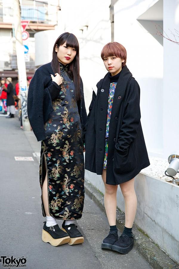 Harajuku Beauty School Students