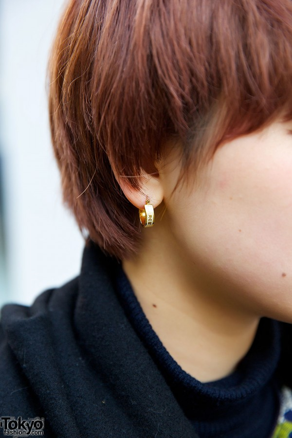 Marc Jacobs Golden Earrings