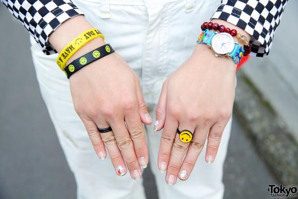 Bracelets, Watch & Rings