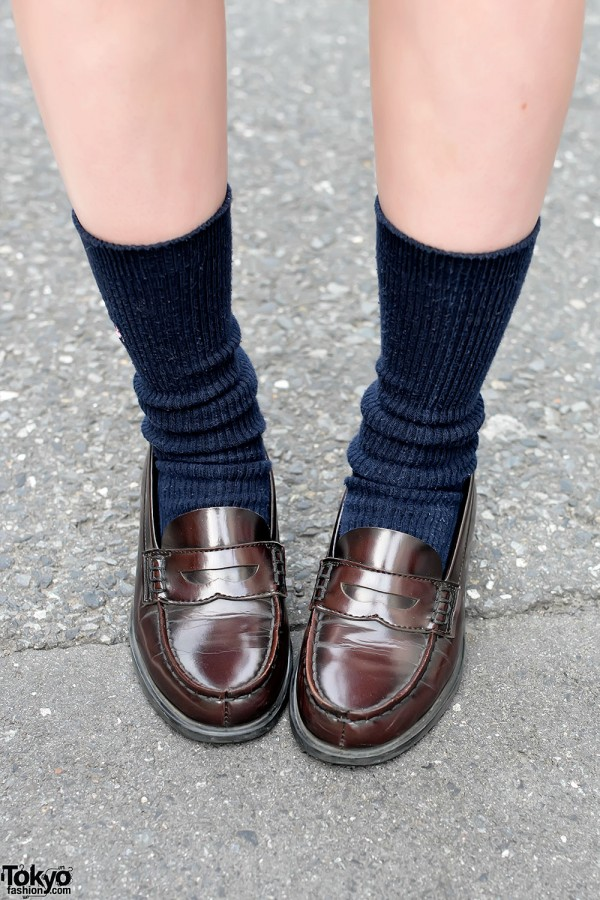 Haruta Penny Loafers