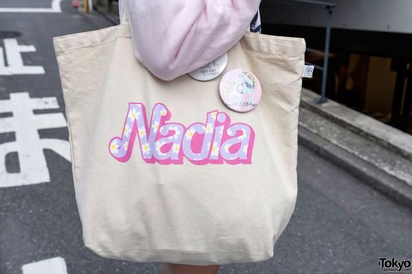 Nadia Harajuku Tote Bag x Nile Perch