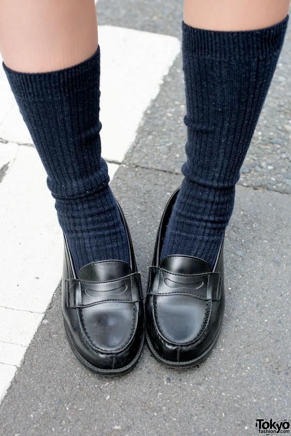 Cute Haruta Shoes in Harajuku