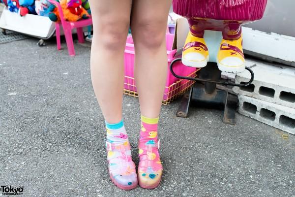 Cassette Playa x JuJu Jelly Shoes
