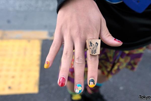 Kanji Ring in Harajuku