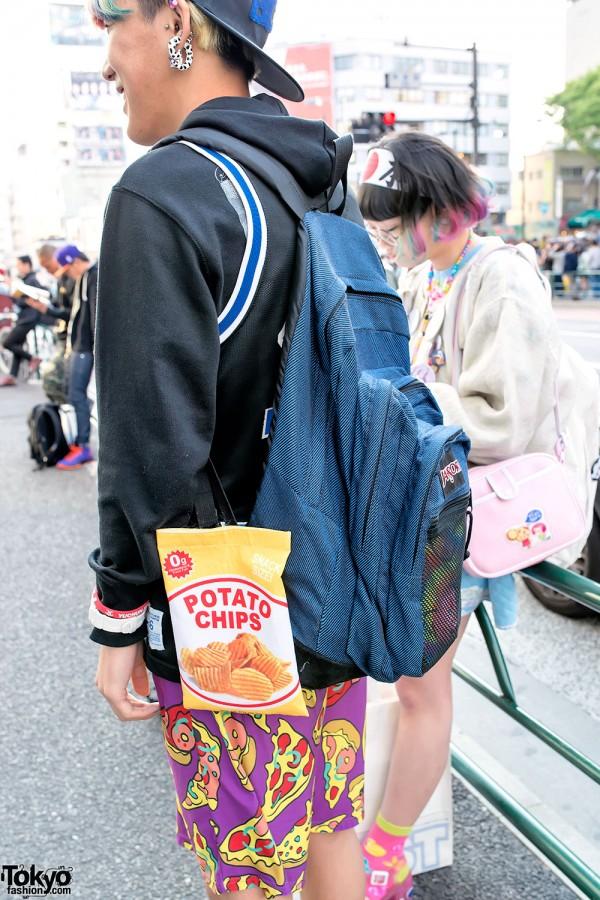 Jansport Backpack & Chips