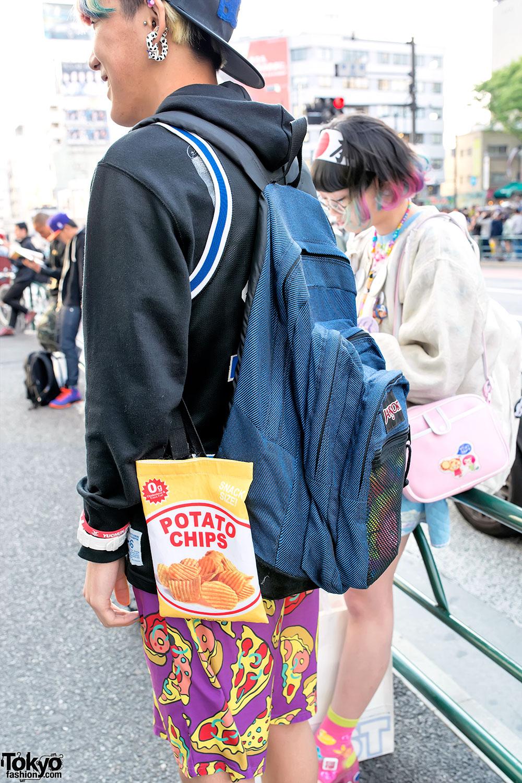 Jansport Backpack & Chips – Tokyo Fashion News
