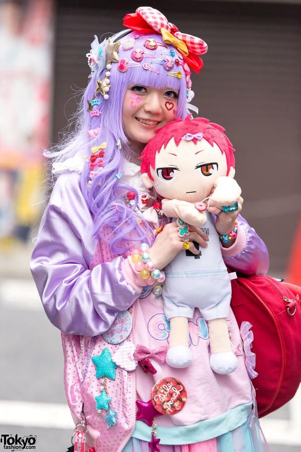 Harajuku Decora with Kuroko's Basketball Doll