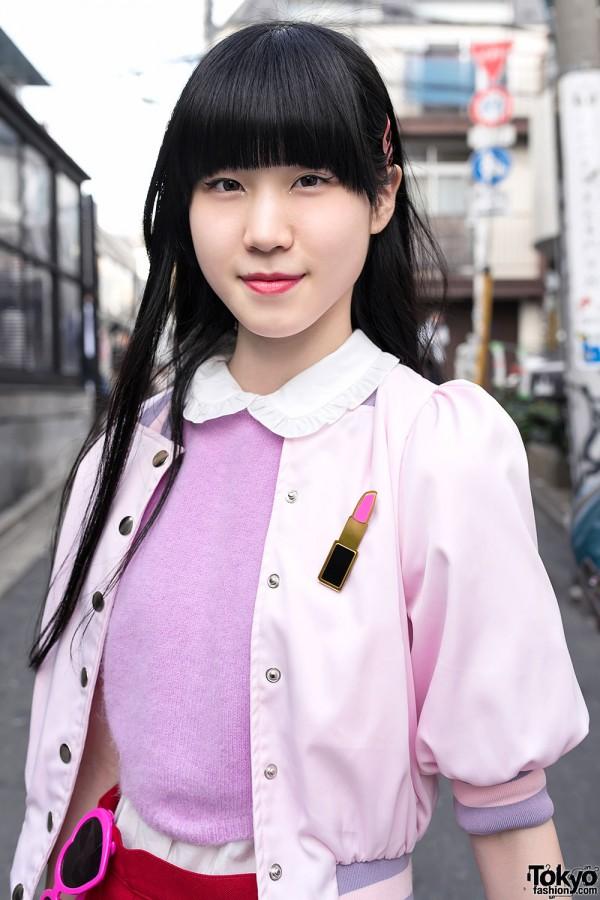 Pink Nadia Harajuku Jacket