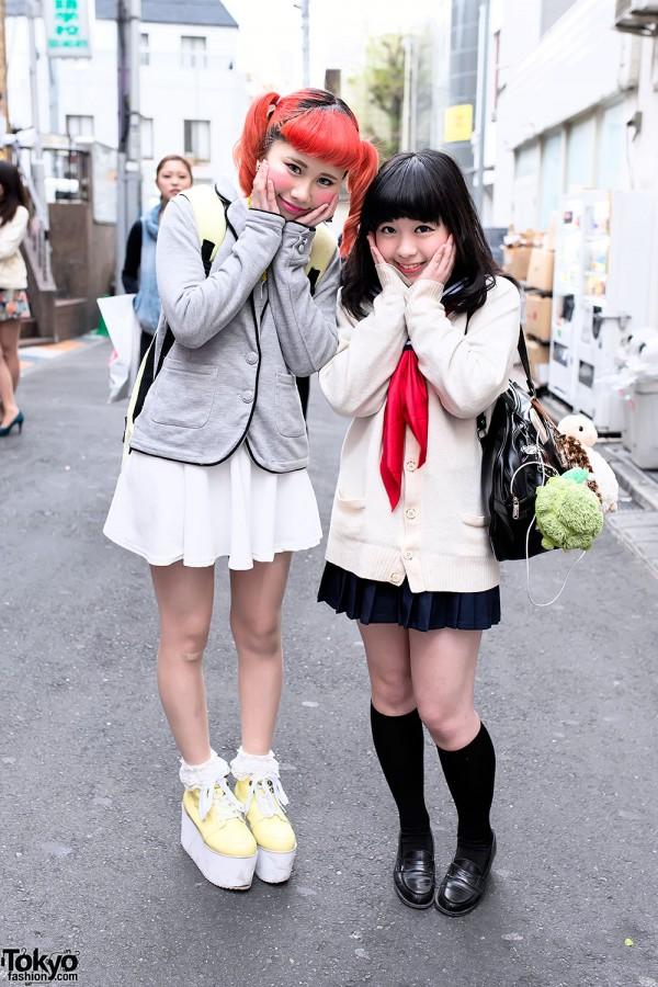 Japanese School Uniform Inspired Fashion
