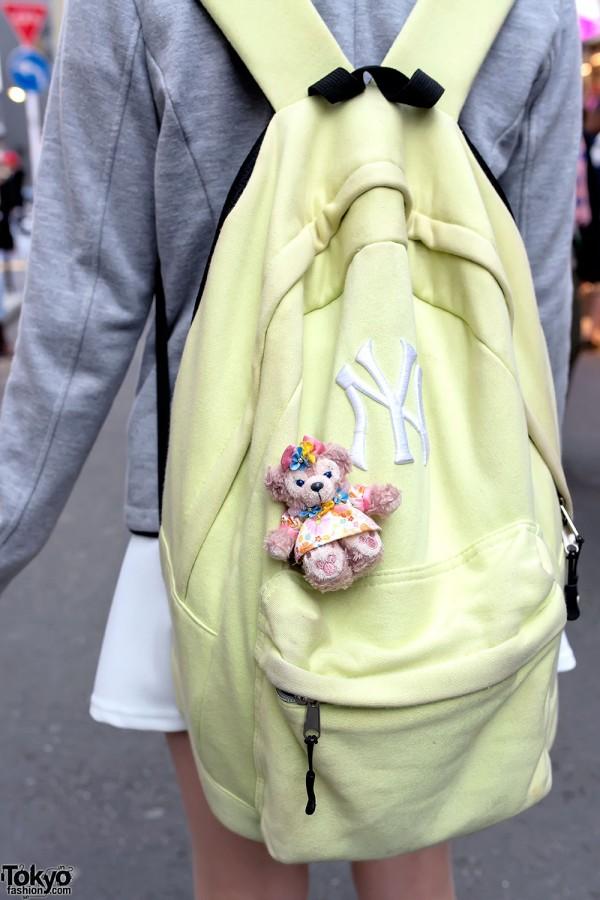 Spinns NY Backpack & Teddy Bear