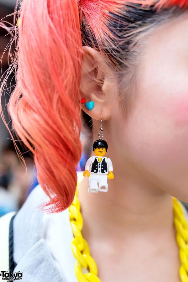 Cute Lego Earrings
